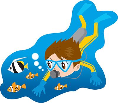 石垣島のダイビングスタッフ